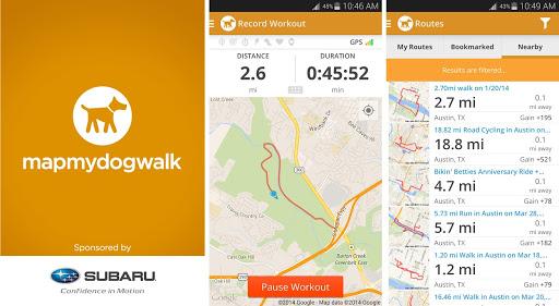 MapMyDogwalk