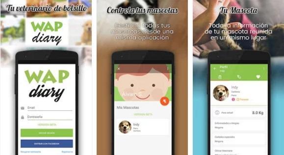 Wap Diary - App para mascotas y perros - Perropositivo.com
