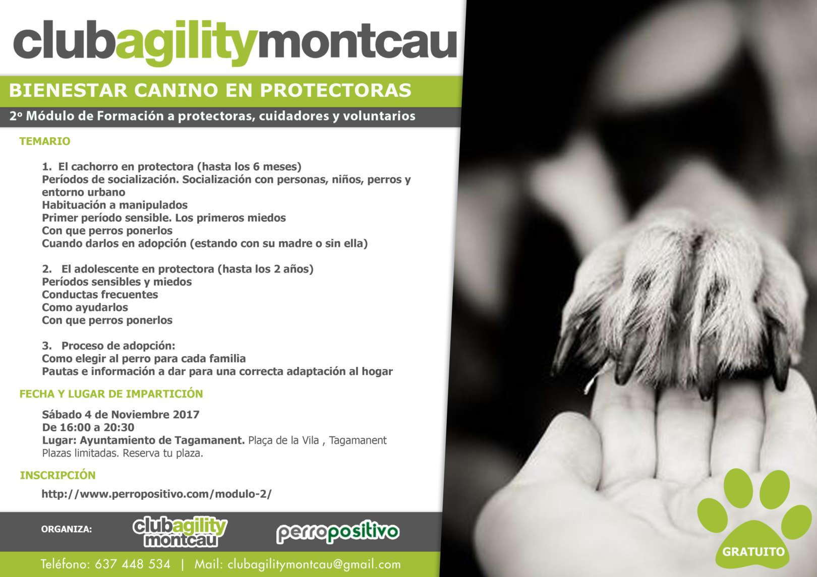 Cartel Modulo2 Bienestar protectoras