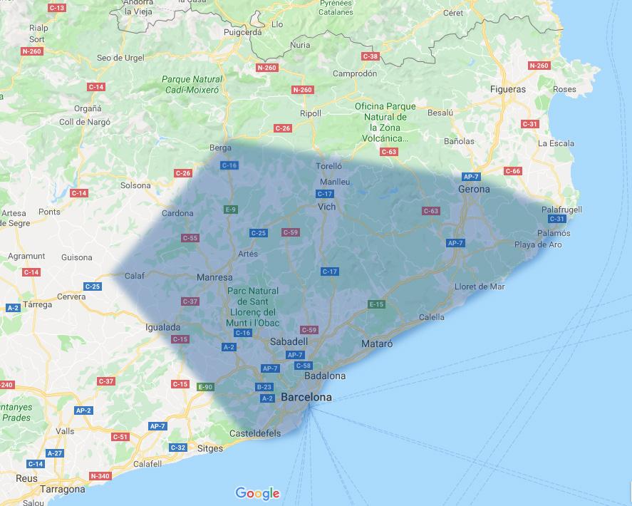 mapa poblaciones